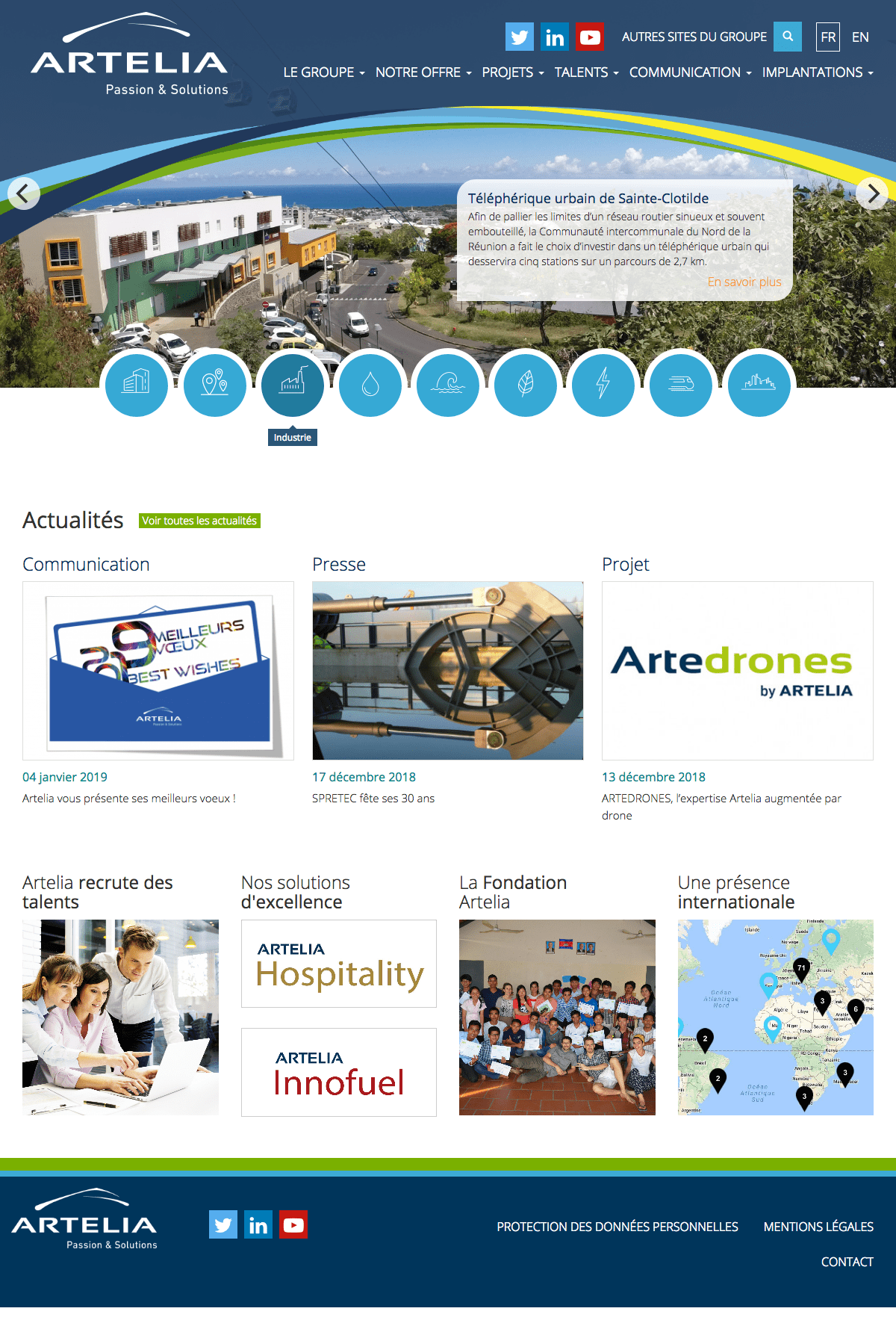 Arteliagroup - Homepage