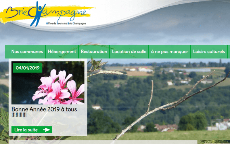 Office de Tourisme de Rebais - Homepage